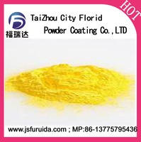 Powder Coating all color polyurethane excellent anti-corrosion electrostatic spray thermosetting spray coating