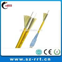 GJFJ8V duplex optical fible juper or pigtailfiber optical cable
