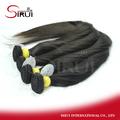 2014 new arrvial unprocessed 100% brazilian human hair crystal hair starfish accessories