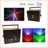 5W RGB Full Color Animation Outdoor Laser Light Christmas Decoration