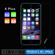 PET Material Scratch Proof Matte Anti-Finger Anti-Static Cell Phone LCD screen protector for iPhone 6 Plus