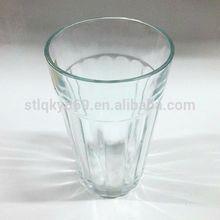 Cheap tall orange juice machine made soda lime material 340ml glassware wholesale