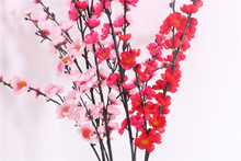 Factory price hot sale artificial plum blossom best artificial flowers