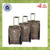 Snake Skin High-end PU Leather External Wheels Trolley Luggage