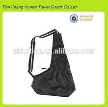 Black Pet cute Dog sling shoulder pet carrier bag (Model H3271)