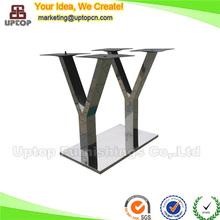 (SP-STL018) Promotion China factory retangular stainless steel metal table base