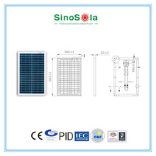 25w Poly Solar Panel For Home Use With CE,TUV,IEC,CEC,CQC,PID.cert