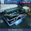 niza avanzada de vidrio curvo de anidación tablas