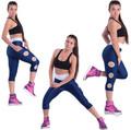 pantaloni a vita alta 2014 ginnastica palestra donne abiti neri jogger pantaloni causale leggings sport yoga indossare pantaloni palestra
