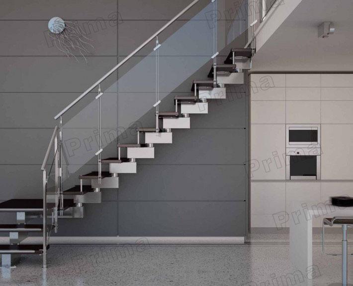 안전 인테리어 유리 나무 계단 단계 열려있는 raing-계단 -상품 ID ...