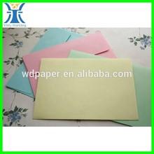 yiwu 2014 nuovo arrivato cartone di colore grande busta ingrosso a colori con