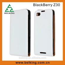White For blackberry Z30 case, for blackberry Z30 leather case