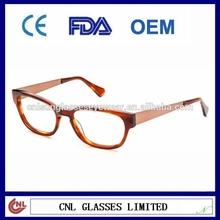 Italy Designer Metal Temple Decorative Eyeglasses (OEM)