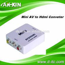New arrival!! High quality mini AV2 HDMI Converter AV to HDMI Converter