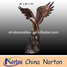 Decorative Large Bronze Eagle sculptures NTBH-D009