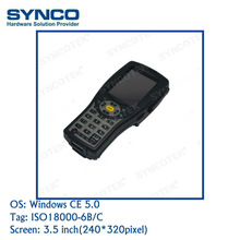 400 MHz CPU RS232 Handheld Barcode Reader With RFID Windows CE