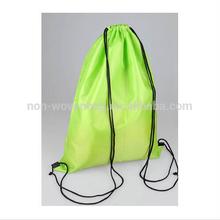 Promotional Logo Branded Polyester Drawstring Bag/drawstring bag suppliers