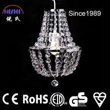 2014 1L small modern cheaper crystal pendant lamp LED decoration (NS-120144)