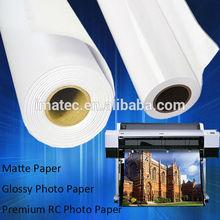 190gsm RC Base Premium High Glossy Waterproof Inkjet Photo Paper