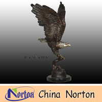 Outdoor Bronze Eagle sculptures NTBH-D004