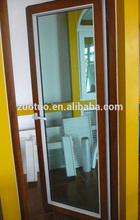 Double glass soundproof design office type pvc swing door