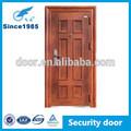 Acier laminé à froid se ouvrent de portes extérieures en bois