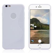 For iPhone 6 Plus S Line TPU Case,Made in China