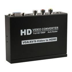s-video+vga+rca to hdmi converter 1080p Scaler