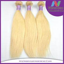 wholesale 7a virgin human hair weaving remy russian blonde hair extensions