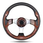 320mm/350mm carbon fiber racing car/ go kart sport/quick disconnect/steering wheel