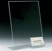 High quality acrylic bussiness card holder/display with business card holder