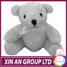 2015 new design large stuffed animals white teddy bear icti audited