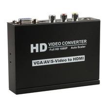s-video+vga+rca to hdmi converter 1080p