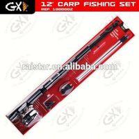 12'Carp fishing set & fish skateboard & carp fishing