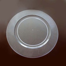 Round Plastic Serving Tray