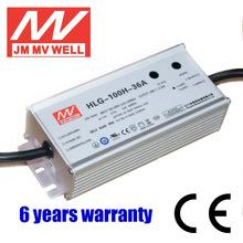 100w led power driver 36V waterproof IP65 CE UL RoHS EMC