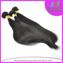 grade 6A unprocessed staight vigin peruvian hair