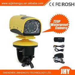 Mini DV HD Sport Video Action IR Camera 720P 5.0MP 20M Waterproof DVR Car Bike S20 mini dv key