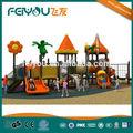 2014 Feiyou Tropical Rain Serie de China venta barata caliente múltiple al aire libre / Escuela / Parque de plástico Equipo Infantil Zona de juegos