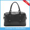 Boston new fashion high quality genuine leather shoulder bag/wholesale cow leather snake pattern lady handbag