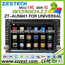 "ZESTECH 2014 newest 6.2"" indash autoradio gps navigation Universal Android car satellite radio"