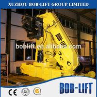 Knuckle arm mini truck 12 ton boom hydraulic crane manufacturer for sale SQ12ZA3