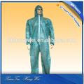 no tejido transpirable desechables traje de protección sobretodo