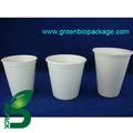Desechable biodegradable respetuoso del medio ambiente de la caña de azúcar bagazo de taza