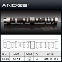 Auto Engine Parts High Performance Camshaft for SEAT ALHAMBRA/IBIZA/TOLEDO/ALTEA 1.9/2.0TDI ENGINE: ANU/AR OE: 038109101R