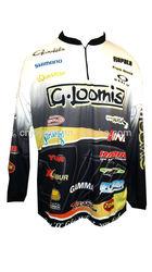 Fashion bass team fishing jersey