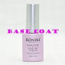 RONIKI gel polish high gloss and professional uv gel nail polish Complete natural wear