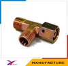 Hydraulic tee fittings equal tees