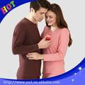 95 5 de algodón poliéster ropa interior térmica para la pareja