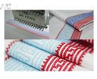 Cross-stitch Embroidery Single Head embroidery Machine 9 needle 220V / 50Hz